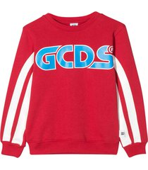 gcds mini red sweatshirt