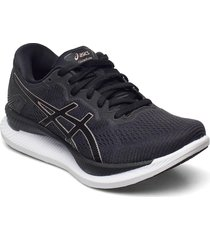 glideride shoes sport shoes running shoes svart asics