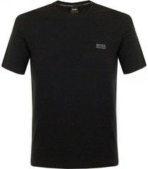 hugo boss shirt rn ss black t-shirt 50297318