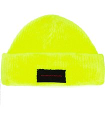 alexander wang chynatown patch beanie - yellow