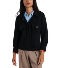 riley & rae ryder textured knit jacket, created for macy's