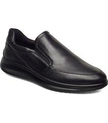 aquet loafers låga skor svart ecco
