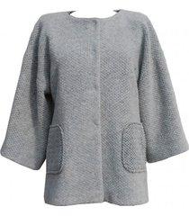 płaszcz wełniany oversize