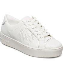 kirby lace up låga sneakers vit michael kors shoes