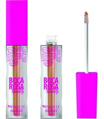 gloss labial diva glossy bey 3,5ml #divaglossybey - boca rosa by payot único