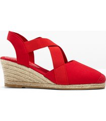 sandali con zeppa (rosso) - bpc bonprix collection