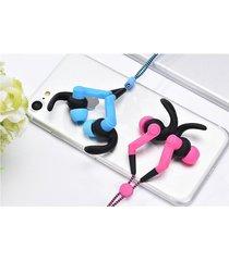 audífonos bluetooth deportivos inalámbricos, st-006 auriculares de la música del diseño de la manera auricular del deporte de audifonos bluetooth manos libres  (color de rosa)
