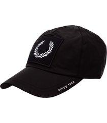 fred perry biker baseball cap