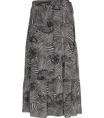 jeovanna knälång kjol svart baum und pferdgarten