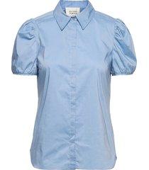 glasgow shirt kortärmad skjorta blå second female