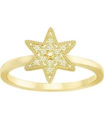 anillo swarovski field star dorado 5269948