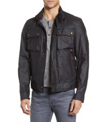 men's belstaff racemaster jacket, size 40 us / 50 eu - black