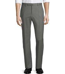 matty straight-leg wool pants
