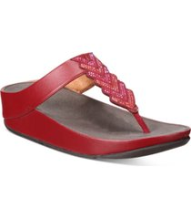 fitflop cora crystal thong sandals women's shoes