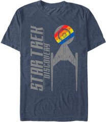 star trek men's discovery retro u.s.s. discovery ncc-1031 short sleeve t-shirt