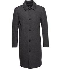 aslan mac coat wollen jas lange jas grijs bruuns bazaar