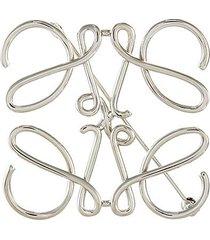 anagram brass brooch