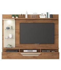 painel para tv até 60 pol permóbili móveis londres savana/off white