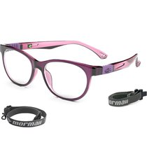 óculos de grau mormaii jump violeta brilho rosa