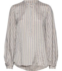 loga ls blouse blouse lange mouwen crème second female