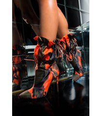 akira azalea wang hate when you leave drawstring stiletto heel bootie