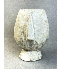 idol cykladzki / wazon rzeźbiony