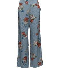 natacha pants so18 wijde broek blauw gestuz