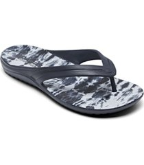 skechers women's foamies bay breeze flip flop thong sandals from finish line