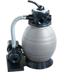 "blue wave 12"" sand filter system with 1/2 hp pump for above ground pools"