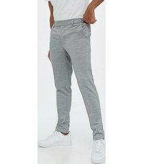 only & sons onselias casual pants jkt byxor ljus grå