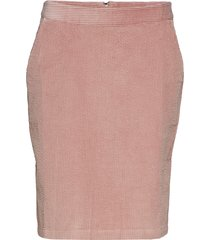 gabby skirt kort kjol rosa kaffe