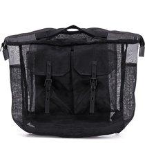 ally capellino frank sheer backpack - black