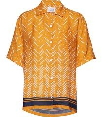 planet blouses short-sleeved geel libertine-libertine