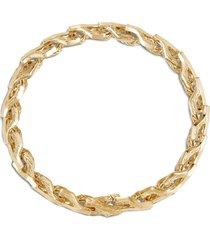 'classic chain' 18k gold bracelet