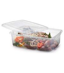 pote plástico para microondas freezer marmitas 7,9 litros