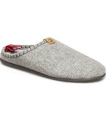 dnt toffel slippers tofflor grå viking