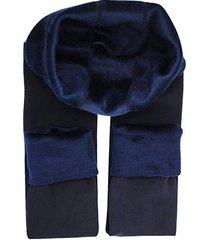 leggings grueso térmico interior fleece polar azul