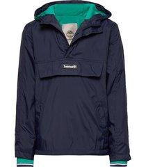 hooded windbreaker outerwear jackets & coats windbreaker blauw timberland