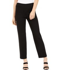 bar iii pull-on straight-leg pants, created for macy's
