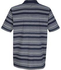 randig tröja med krage roger kent marinblå