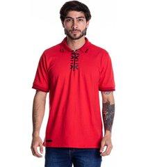 camiseta tipo polo-goco-1716-rojo
