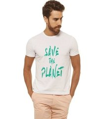 camiseta joss - save the planet - masculina