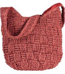 borsa shopper di paglia (rosa) - bpc bonprix collection