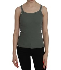 strap slim fit casual tank top blouse