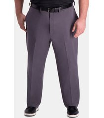 haggar men's big & tall classic-fit khaki pants