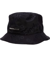 emporio armani stella logo hat