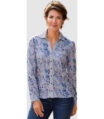 blouse paola lichtblauw