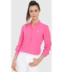 blusa rosa us polo assn