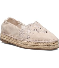 woms slip-on sandaletter expadrilles låga rosa tamaris