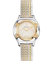 women's versace medusa frame bracelet watch, 36mm